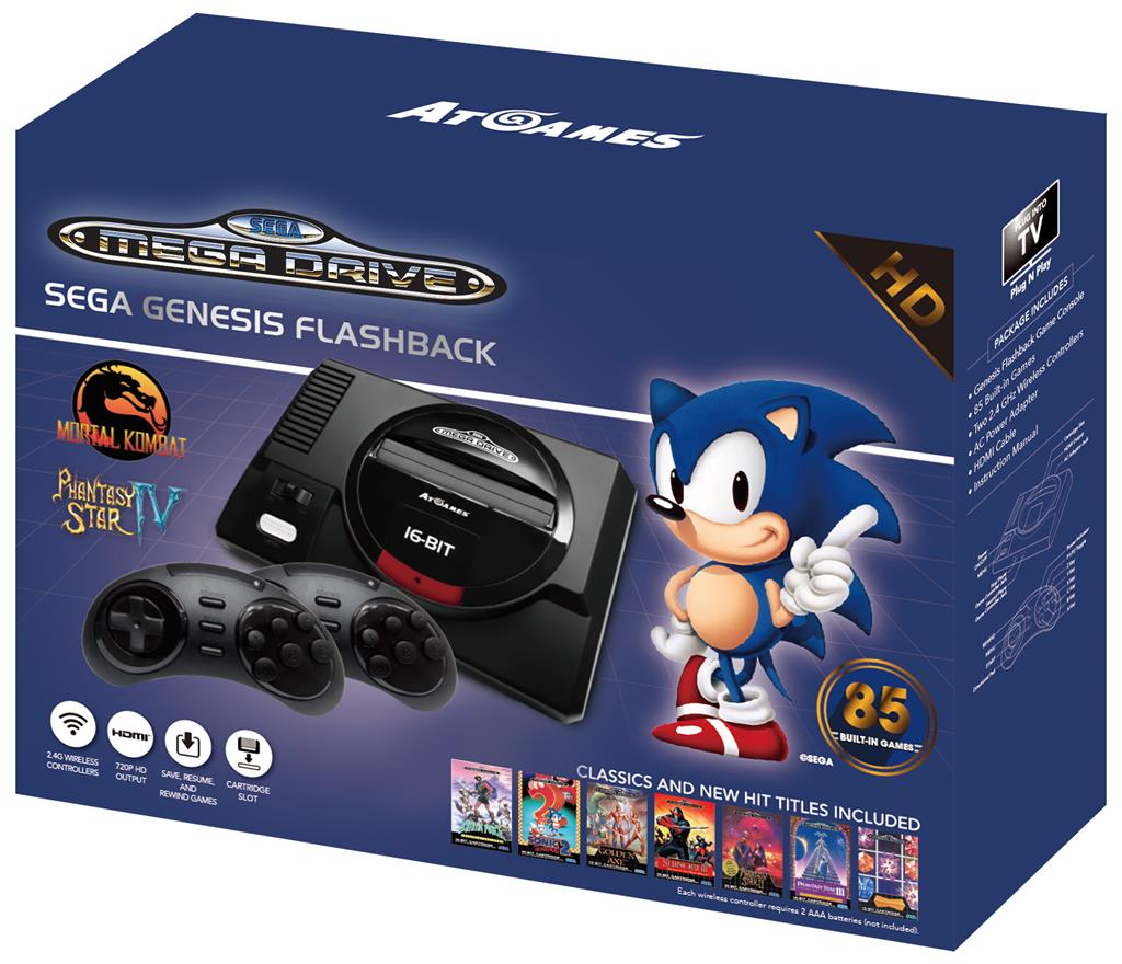 Sega Mega Drive Flashback - 85 Games Included
