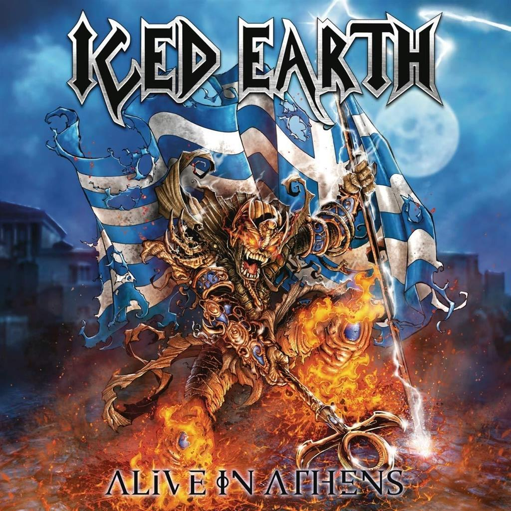 Iced Earth - Alive In Athens - 20th Anniversary Edition (5LP Vinyl - 180 gram)