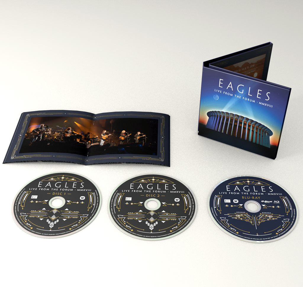Eagles - Live At The Forum - Digipak (2CD + Blu-ray)