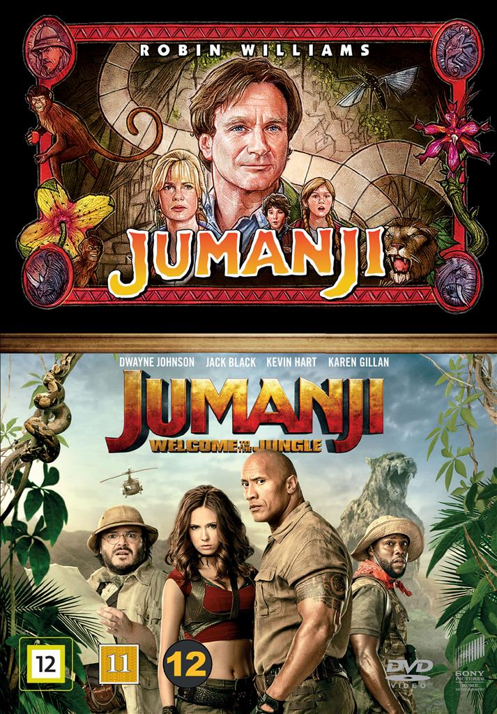 Jumanji (1995 & 2017): Welcome To The Jungle Box (DVD)