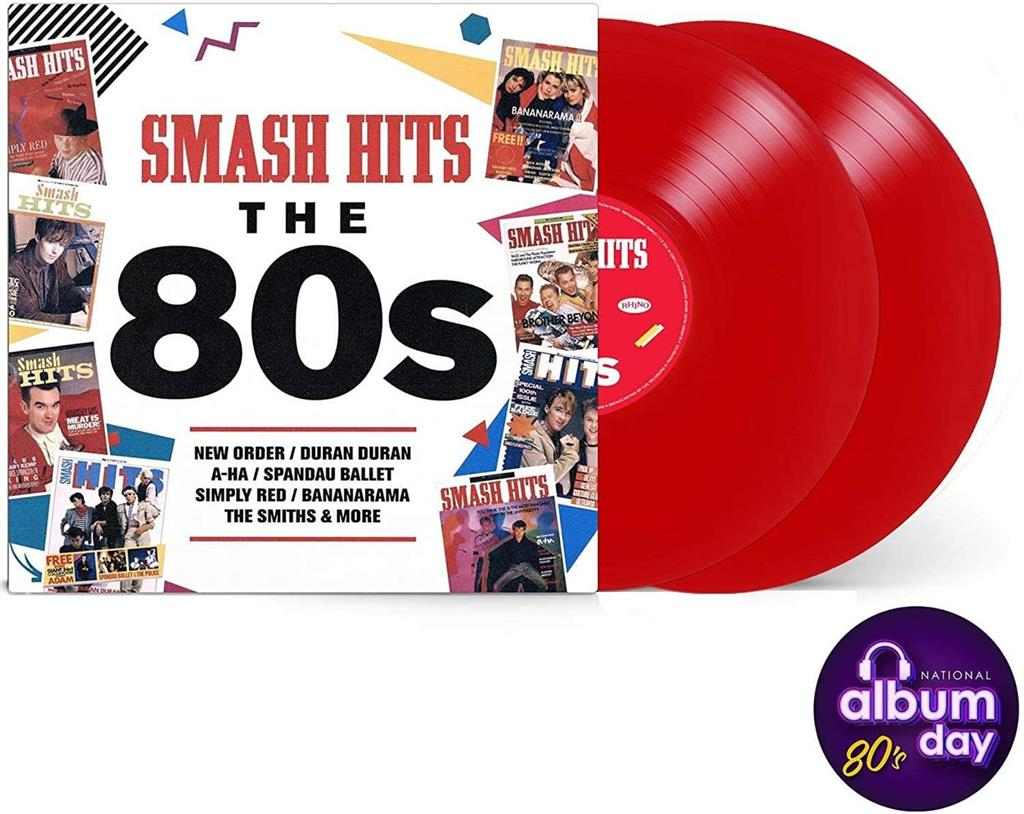 Smash Hits The 80s - Limited Red Edition (2LP - Vinyl)