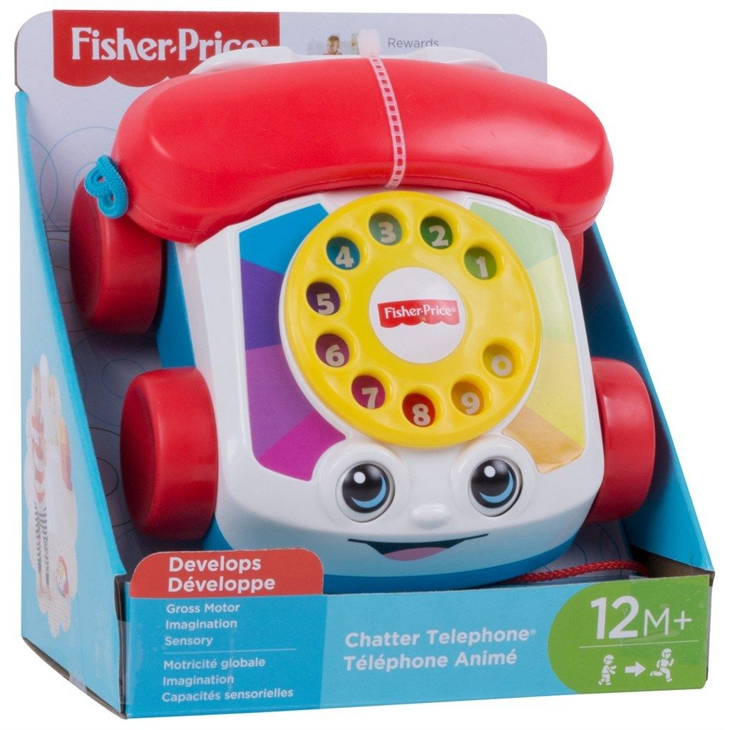 Fisher-Price Telefon - Klassisk Babyleker