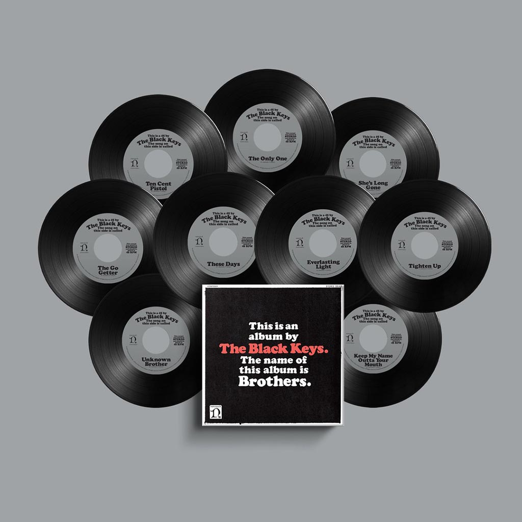 "The Black Keys - Brothers - Deluxe Remastered 7"" Box Set (9 x 7"" Vinyl)"