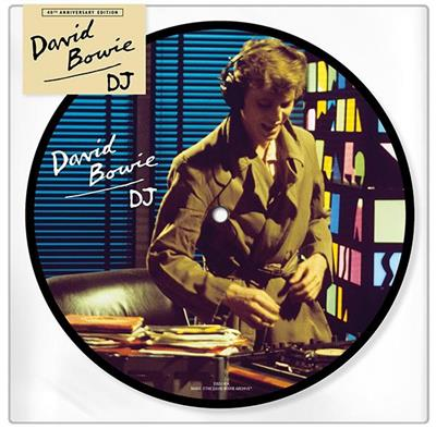 "David Bowie - DJ 40th Anniversary (7"" Vinyl - Picture Disc)"