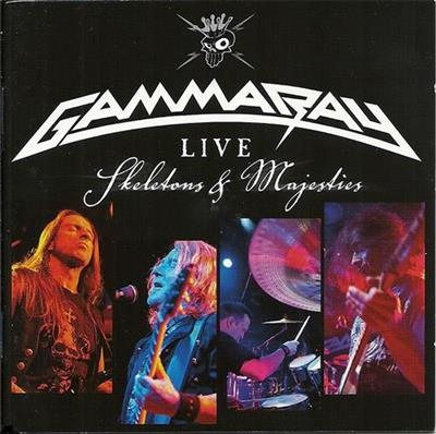 Gamma Ray - Live - Skeletons & Majesties (2CD)