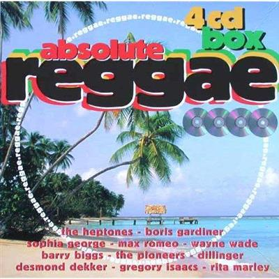 Absolute Reggae 4cd Box i LP-Cover (4CD)