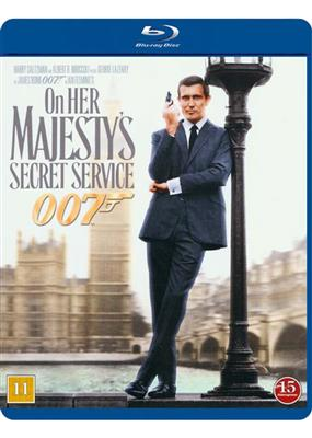 James Bond - On Her Majesty's Secret Service (Blu-ray)