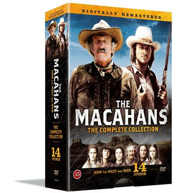 Familien Macahan - The Complete Collection (DVD)