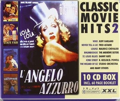 Classic Movie Hits Vol. 2 - Diverse filmmusikk (10CD)
