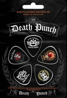 Five Finger Death Punch 5Fdp Plekter 5 Pack