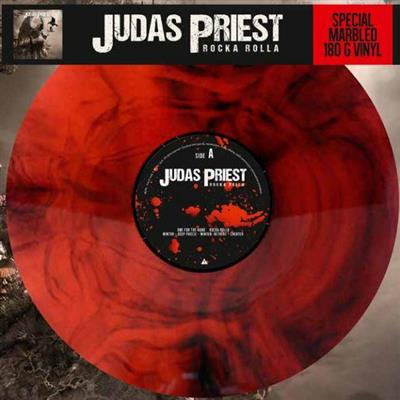 Judas Priest - Rocka Rolla (Vinyl Special Marbled 180 gram Red)