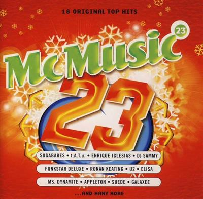 McMusic 23 (CD) Diverse Artister