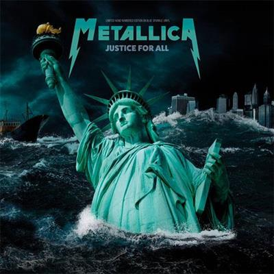 Metallica - Justice For All - Live Broadcast Woodstock 1994 - Limited Edition (Blue Vinyl)