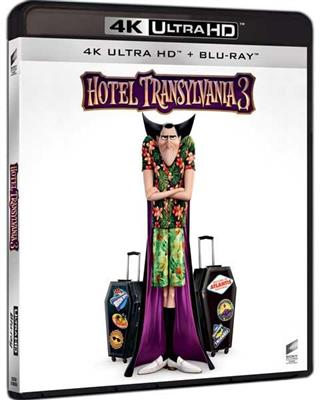 Hotel Transylvania 3: A Monster Vacation (4K Ultra HD + Blu-ray)