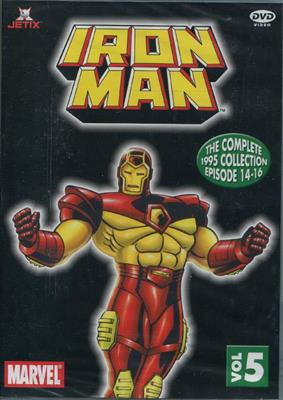 Marvel: Iron Man 1995 - Vol 5: Episode 14-16 (DVD)