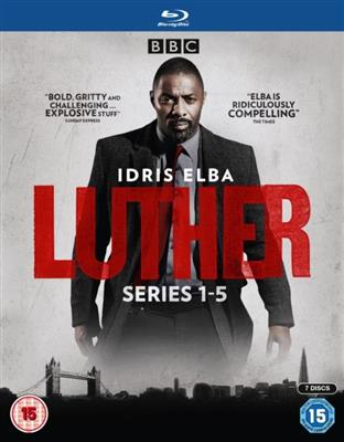 Luther - Sesong 1-5 (Import) (Blu-ray)