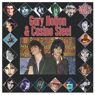 Gary Holton & Casino Steel - The Ballad Of Gary Holton & Casino Steel Vol. 2 - Limited Oransje (Vinyl)