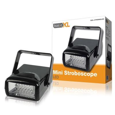 Mini Stroboscope LED Disco Lys