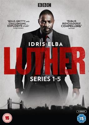 Luther - Sesong 1-5 (Import)