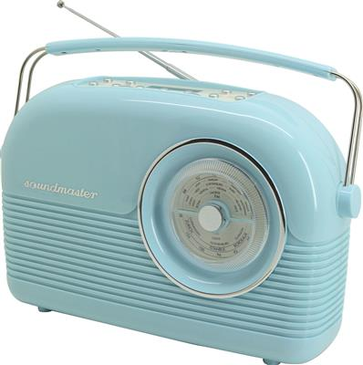 Soundmaster DAB+ Retro Radio (Blå)