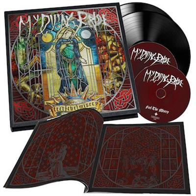 "My Dying Bride - Feel The Misery - Deluxe Earbook Edition (2CD + 2LP Vinyl - 10"")"