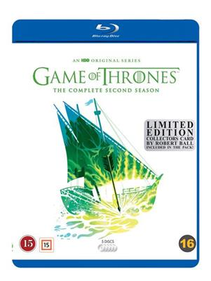 Game Of Thrones - Sesong 2: Limited Robert Ball Edition (Blu-ray)
