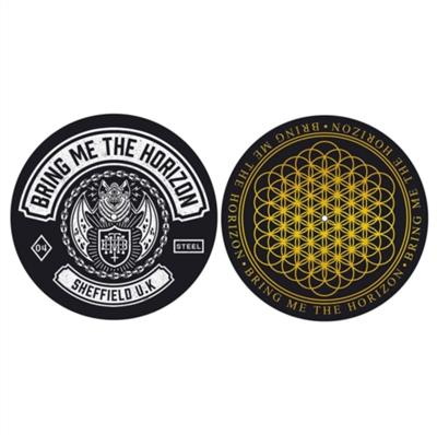 Slipmatte - Bring Me The Horizon - Sheffield U.K - Vinyl rekvisita
