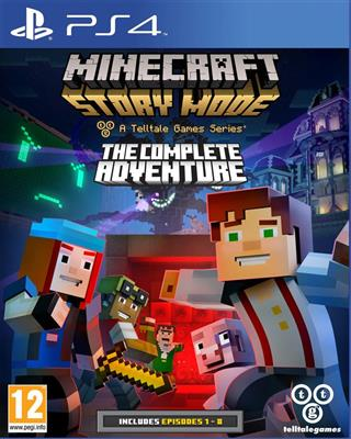 Minecraft - Story Mode - The Complete Adventure (PS4)