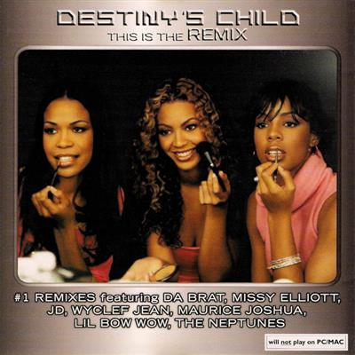 Destiny's Child - This Is The Remix (CD)