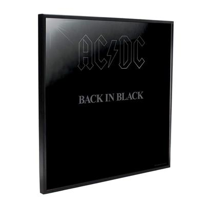 AC/DC Crystal Clear Pictures - Back In Black 32 X 32 CM