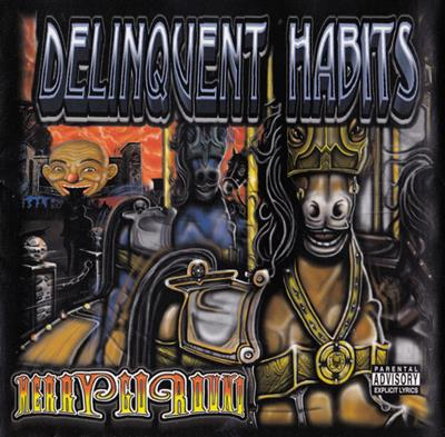 Delinquent Habits - Merry-Go-Round (CD)