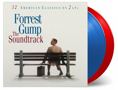 Forrest Gump - Transparent Red & Blue (2LP Vinyl)
