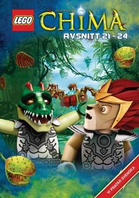 LEGO Chima: Episode 21-24 (DVD)