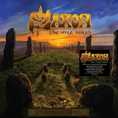Saxon - The Vinyl Hoard (Vinyl - 8LP)