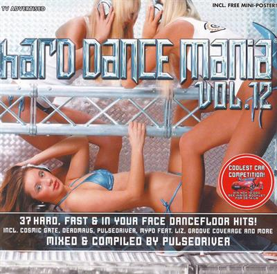 Hard Dance Mania Vol. 12 (2CD) Diverse Artister