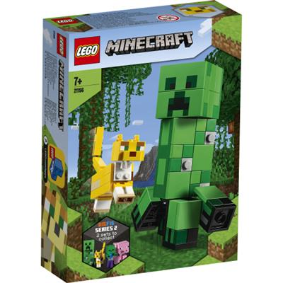 LEGO Minecraft: BigFig Creeper™ Og Ozelot