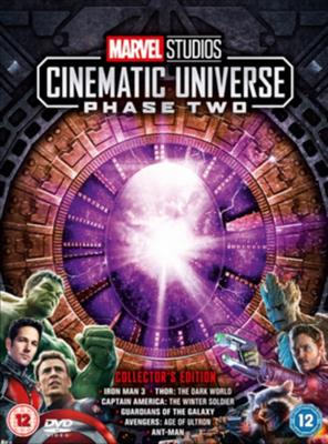 Marvel Studios Cinematic Universe: Phase Two  (Import) (DVD)