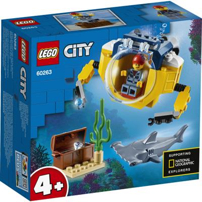 LEGO City Oceans: Mini-ubåt