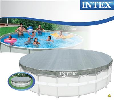 Bassengtrekk Deluxe for basseng opp til 549cm i diameter - Intex