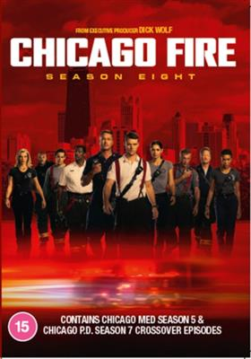 Chicago Fire - Sesong 8 (Import) (DVD)