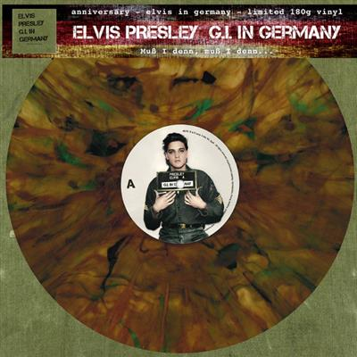 Elvis Presley - G.I. In Germany (Vinyl - 180gram - Limited edt - Green-Marbled)