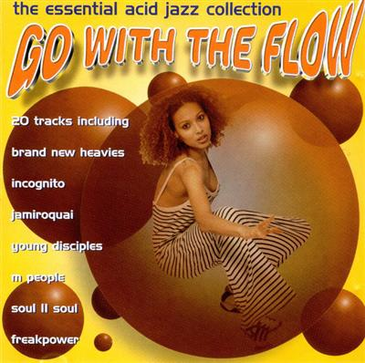 Go With The Flow - The Essential Acid Jazz Collection (CD) Diverse artister
