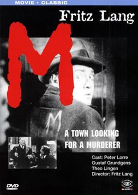 M - A Town Looking For A Murderer (DVD)