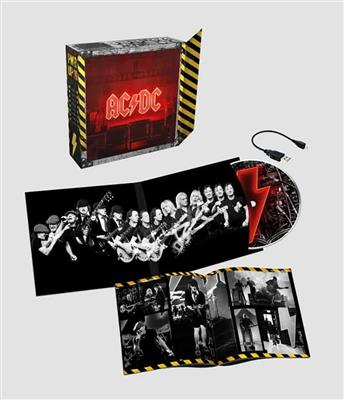 AC/DC - Power Up - Limited Light Box Edition Illuminated album cover with built-in speaker and USB charging cable (CD)