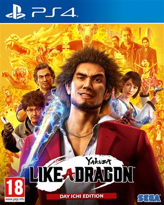 Yakuza - Like A Dragon- Day Ichi Edition (PS4)