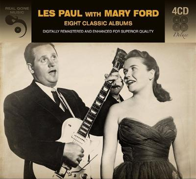 Les Paul with Mary Ford - Eight classic albums (4CD)