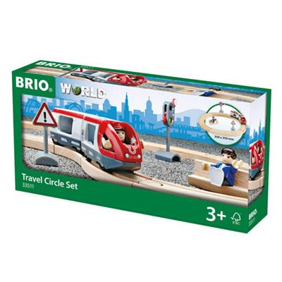 BRIO World Togbane Sirkel