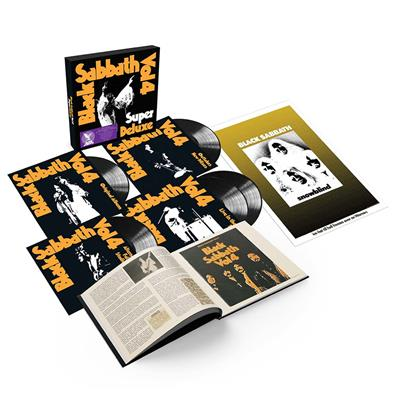 Black Sabbath - Vol. 4 - Remastered - Super Deluxe Box Set (5LP Vinyl - Bok)
