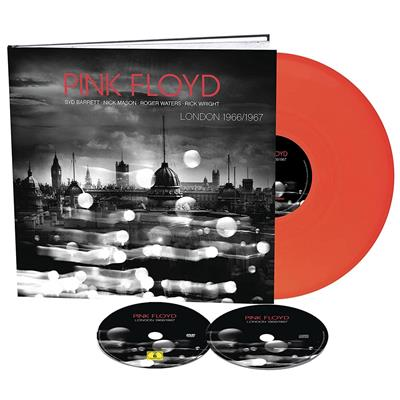 "Pink Floyd - London 1966-67 - Limited Edition (10"" Vinyl+CD+DVD)"