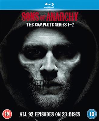 Sons Of Anarchy - Den Komplette Serien (Import) (Blu-ray)